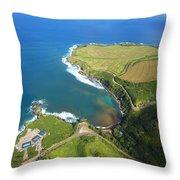 Kapalua Resort Throw Pillow