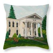 Kappa Alpha Theta Throw Pillow