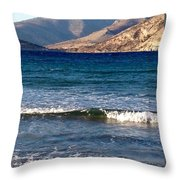 Kardamila Chios Greece Throw Pillow