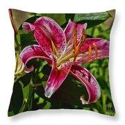 Karen's Lily Throw Pillow