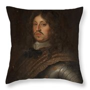 Karl X Gustav Throw Pillow