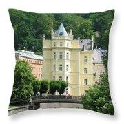 Karlovy Vary 1 Throw Pillow