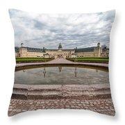 Karlsruhe Palace View Throw Pillow