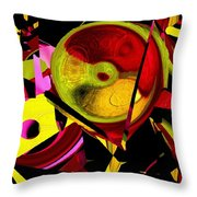 Karma Wheel Throw Pillow