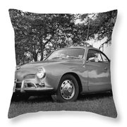 Karmann Ghia Coupe I I Throw Pillow