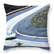 Karussell Porsche Throw Pillow
