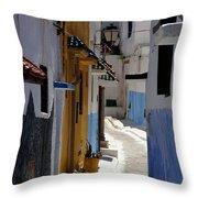 Kasbah Of The Udayas Throw Pillow by Peter Verdnik