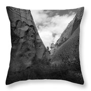 Kasha-katuwe Tent Rocks National Monument 9 Throw Pillow