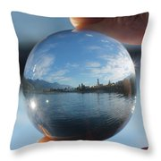 Kaslo Through The Looking Glass Throw Pillow