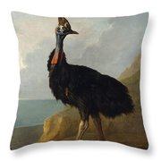 Kasuari Throw Pillow