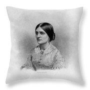 Kate Fox (1837-1892) Throw Pillow