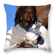 Kateri Tekakwitha Santa Fe Throw Pillow