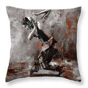 Kathak Dancer A1 Throw Pillow
