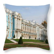 Katharinen Palace - Russia Throw Pillow