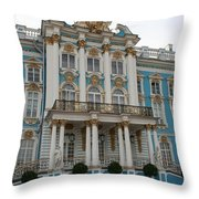 Katharinen Palace I - Russia  Throw Pillow