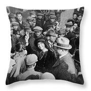 Katherine Stinson Throw Pillow