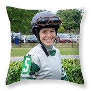 Katie Davis - Laurel Park 2 Throw Pillow