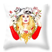 Katya Zamolodchikova Throw Pillow