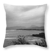 Kauai Coconut Coast Throw Pillow