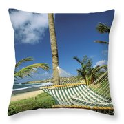 Kauai Hammock Throw Pillow