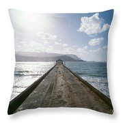 Kauai, Hanalei Bay Throw Pillow