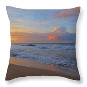 Kauai Morning Light Throw Pillow