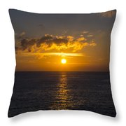 Kauai Sunset 4 Throw Pillow
