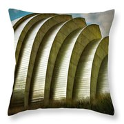 Kauffman Performing Arts Center 1  Throw Pillow