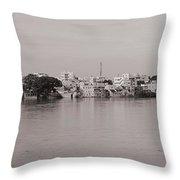 Kauveri Cityscape Throw Pillow