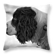 Kaya Monochrome Throw Pillow