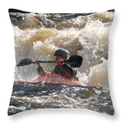 Kayak 6 Throw Pillow