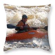 Kayak 9 Just Relax Throw Pillow