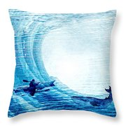 Kayak Passion Throw Pillow