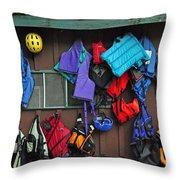 Kayakers Dream Throw Pillow