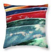 Kayaking Forever  Throw Pillow