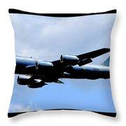 Kc-135r Stratotanker Poster Throw Pillow