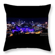 Kc Skyline 2015-9850b Throw Pillow