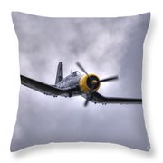 Kd 345 Corsair Iv Throw Pillow