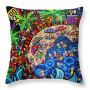 KE3 Throw Pillow