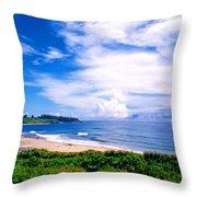 Kealia Beach Throw Pillow