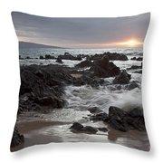 Keawakapu Kahaulani Dew Of Heaven Maui Hawaii Throw Pillow