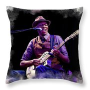 Keb' Mo' Throw Pillow