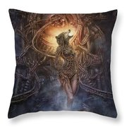 Kebechets Rebirth Throw Pillow