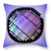 Keck Telescope Ccd Imager Throw Pillow