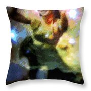 Ke'e Hula Uhane Throw Pillow