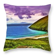Keem Bay - Ireland Throw Pillow