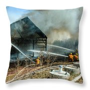 Keep Fire In Your Life #15 Throw Pillow