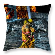 Keep Fire In Your Life No 8 Throw Pillow