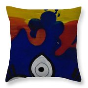 Keep It Wavy Throw Pillow