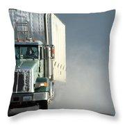 Keep On Truckin'... Throw Pillow
